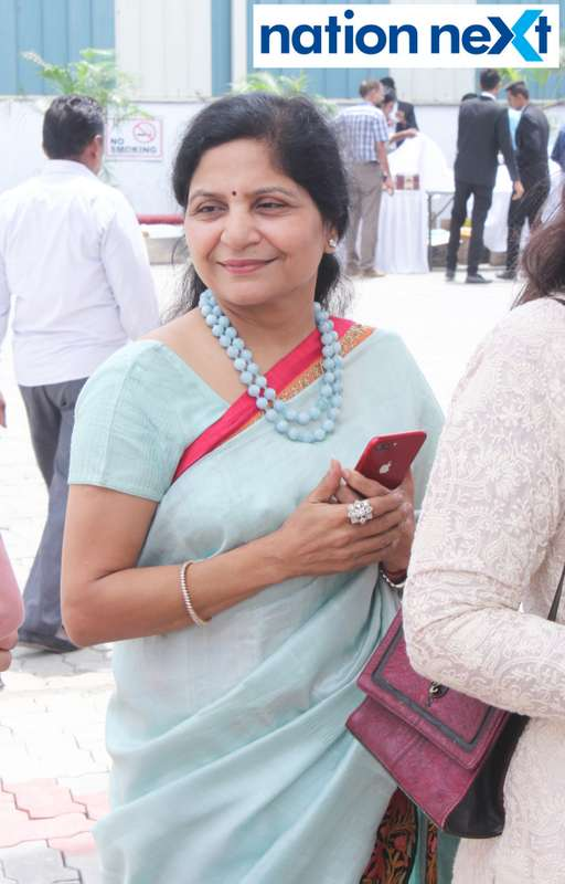 Anuradha Gupta during the inauguration of Nagpur's first LNG and CNG Mother Station