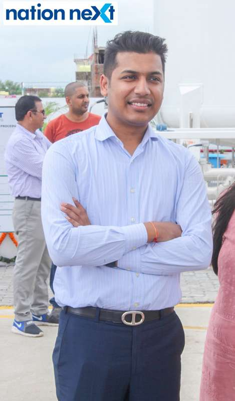 Anurag Gupta during the inauguration of Nagpur's first LNG and CNG Mother Station