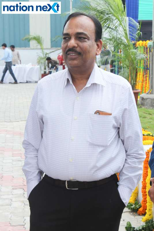 Ashok Goyal during the inauguration of Nagpur's first LNG and CNG Mother Station