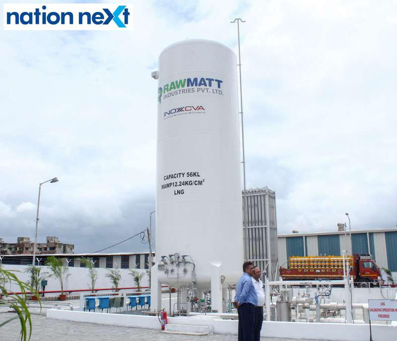 LNG and CNG Mother Station by Rawmatt Industries in Nagpur
