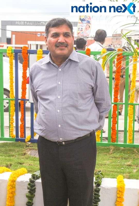 Padmesh Gupta during the inauguration of Nagpur's first LNG and CNG Mother Station