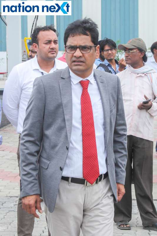 Vaddadi Subbarao (Director, Rawmatt Industries Private Limited) during the inauguration of Nagpur's first LNG and CNG Mother Station