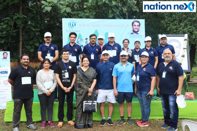 Dr Shrikant Jichkar Foundation along with Indian Medical Association (IMA), Saptak and Nagpur Police had organised 'Walkathon' on Sunday.