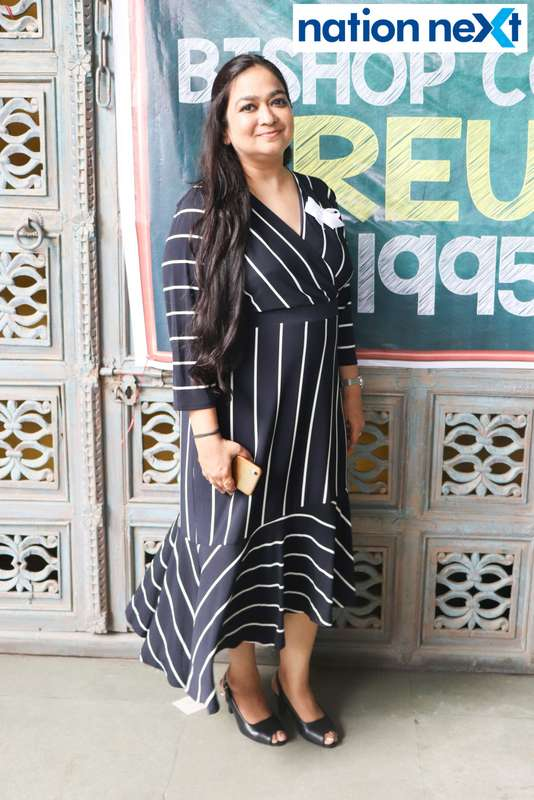 Nidhi Sahani during Bishop Cotton School's reunion party held at Chill N Grill in Nagpur