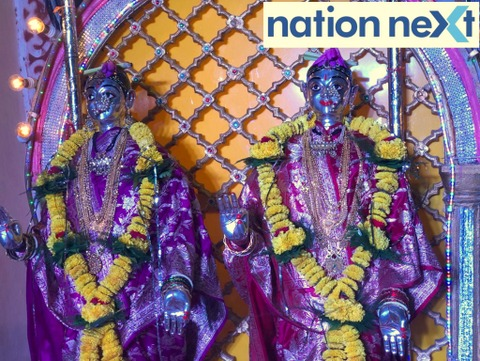 Installed in the year 1708, these 311-yr-old silver Mahalaxmi idols at the residence of Raje Mudhoji Bhonsle in Nagpur exude divinity.