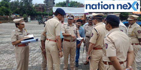 BK Upadhyay said Nagpur Police has deployed over 2500 police personnel and is maintaining a strict vigil in view of Ganesh Visarjan tomorrow.