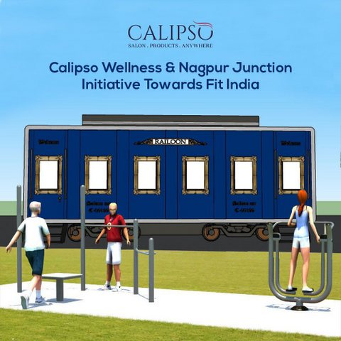 Central Railways in association with Vocano Lifestyle would set up fitness-wellness centre at Nagpur Railway Station within three months.