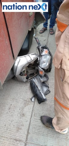 Man got critically injured on Wednesday after his activa two-wheeler got crushed under Star Bus while riding the wrong side at Kamptee-Bhilgaon road.