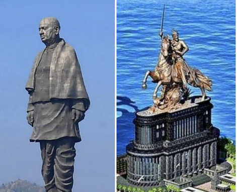 Over 6600 crore put in for Statue of Unity, Shivaji Maharaj statue, India could have instead conducted 6 Chandrayaan-2 missions in the same amount.
