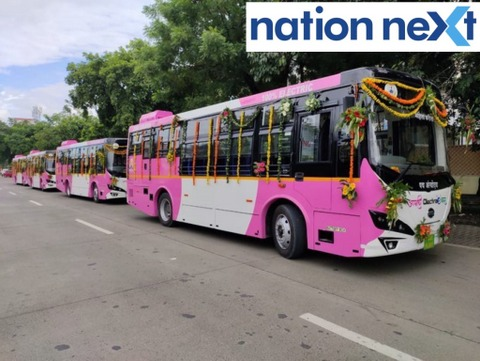 Nagpur Mayor Nanda Jichkar recently launched five women special e-buses 'Tejaswini,' which are ready to ply on city roads.