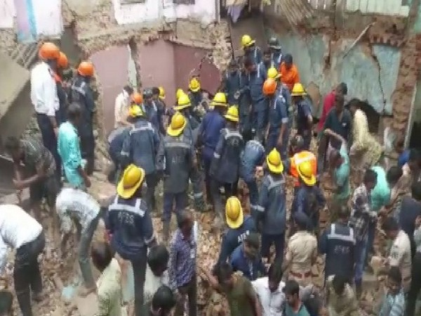 In an unfortunate incident, a three-storey building collapsed in Ahmedabad's Amraiwadi area in the state of Gujarat on Thursday.