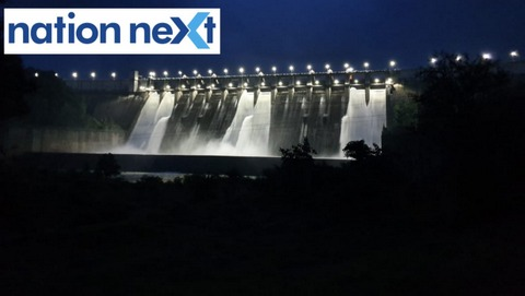As storage level of water rose to 97%, all the 14 gates of the Totladoh dam in Nagpur were opened on Wednesday evening. Check out the beautiful images.