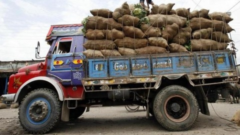The latest 'culprit' is a truck owner from Rajasthan who had to pay Rs 1,41,700 for overloading his vehicle to Delhi Police.