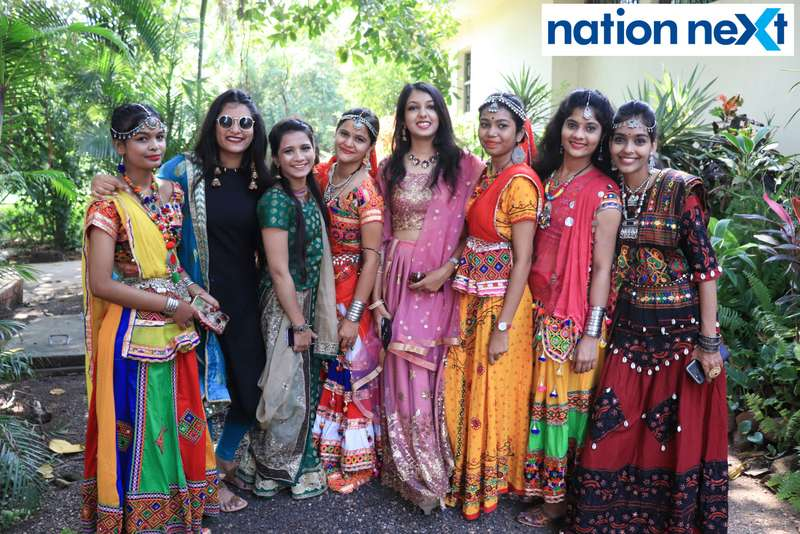 Students of LAD college had a gala time as they gathered at the college's Seminary Hill campus to celebrate Navratri with each other.
