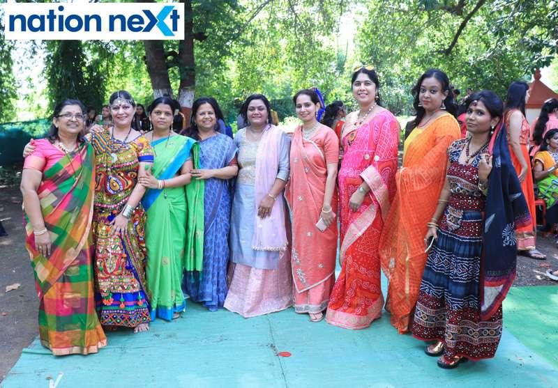 Teachers during 'Ras Garba' held at LAD college in Nagpur