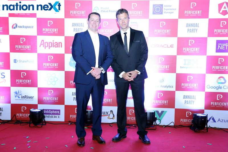 Professionals working with Perficient India Pvt Ltd had a gala time as they gathered together for the annual party of the company held in Nagpur.
