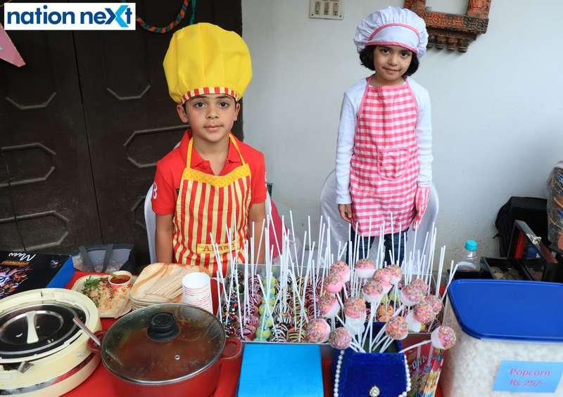 Businesswomen Sangeeta Sharma and Shivani Kothari recently organised a 'Mini Boss Flea Market' where kids turned entrepreneurs.