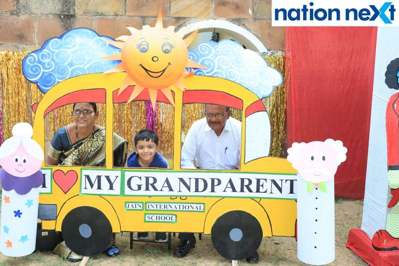 Jain International School and Little Jewels Kindergarten organized 'Fun Fiesta' as part of Children's Day and Grandparents' Day Celebrations.