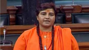 BJP MP and accused in 2008 Malegaon blast case Pragya Thakur referred to Mahatma Gandhi's assassin Nathuram Godse as a patriot.
