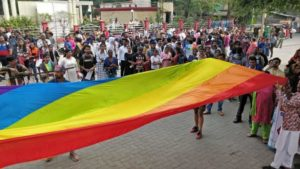 Members of LGBTQI community from Nagpur took to the streets to create awareness about the community at 4th Orange City Pride March.