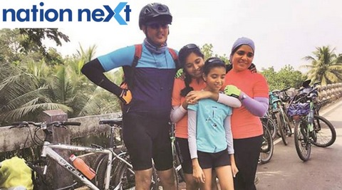 10-year-old Nagpur girl Fatima Shafiq became the youngest girl in her expedition group to cycle 573 kms from Goa to Mumbai in just nine days.