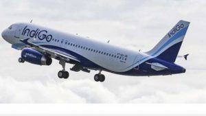 Indigo Mumbai to Nagpur flight made an emergency landing on Thursday afternoon after the aircraft caught minor fire in its engine mid air.