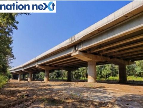 India's first underpass for wildlife animals on NH7 (44) highway that passes through the tiger dominated Kanha-Pench Corridor.