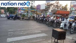 Nagpur: If any motorist or car driver crosses the white line before zebra crossing while the signal is red, a loud siren will blow.