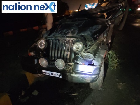 Eight youngsters from Nagpur, in the early hours on Saturday morning, met with a horrific car accident while they were returning back from a restaurant.