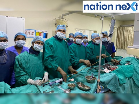 Nagpur: New Era Hospital & Research Institute performed the first Transcatheter (without surgery) Mitral valve replacement with Made-In-India Meril valve.