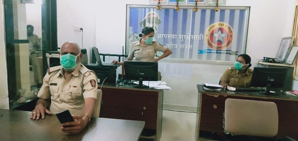Nagpur police have given out a message that while many establishments in the city are closed, its doors are always open for citizens in need.Nagpur police have given out a message that while many establishments in the city are closed, its doors are always open for citizens in need.