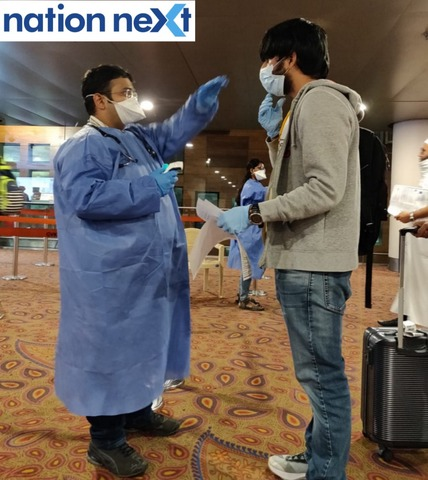 Nagpur doctor Yash Banait has been stationed at Chhatrapati Shivaji International Airport in Mumbai since March 9 for screening COVID-19 patients.
