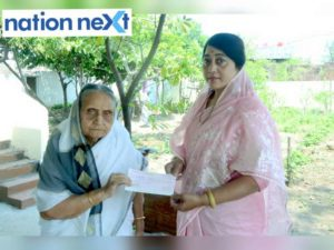 An 87-year-old Nagpur woman, widow of a freedom fighter, donated her monthly pension to the Maharashtra CM's relief fund for fight against COVID-19.
