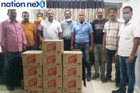 Nagpur Police Crime Branch officials raided gangster Chanda Thakur's residence in Shanti Nagar and seized around 13 boxes of liquor.