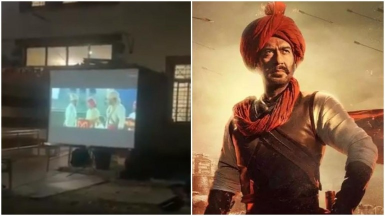 Bollywood actor Ajay Devgn was 'humbled' after Nagpur Police screened his super hit film 'Tanhaji: The Unsung Warrior' at a shelter home during lockdown.
