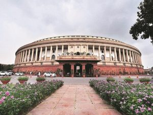 Two floors of the Parliament Annexe building were sealed after a Rajya Sabha Secretariat officer posted at the parliament tested positive for coronavirus.