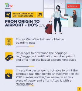 As domestic flights in India are all set to resume from May 25, Civil Aviation Ministry has released guidelines to be followed by passengers and airports.