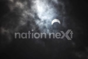 A Solar Eclipse occurs when the Sun, Moon, and Earth are aligned in a straight line or are almost placed in a straight configuration.