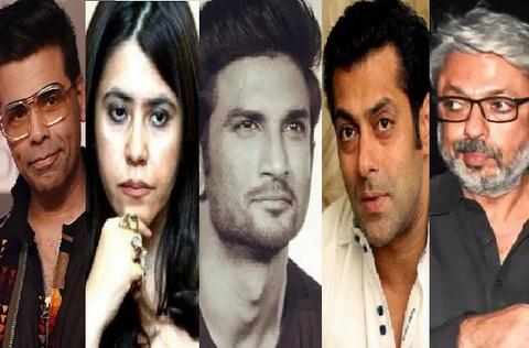 Sushant Singh Rajput case: A cae was filed a case against Bollywood celebrities including Salman Khan, Karan Johar, Sanjay Leela Bhansali and Ekta Kapoor.